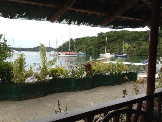 Badladz Dive Resort: View from the Badladz restaurant