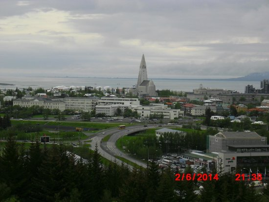 Reykjavik Excursions : View from top of the Pearl