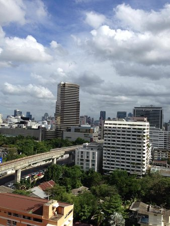 View From The Window Picture Of Evergreen Place Bangkok Bangkok Tripadvisor