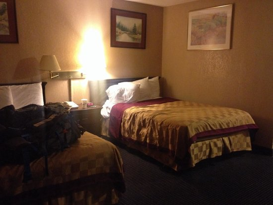 America's Best Inn: Standard double room