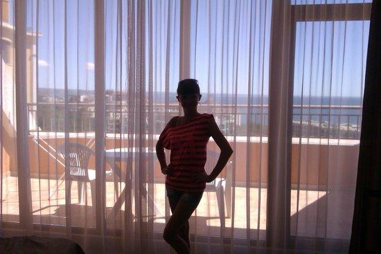 Central Hotel: Пентхаус. Вид из окна.