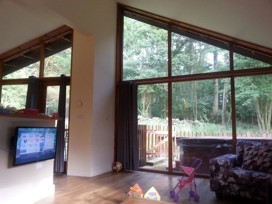 Forest Holidays Cropton, North Yorkshire: large open plan area