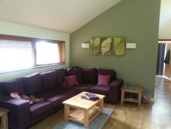 Forest Holidays Cropton, North Yorkshire: living area