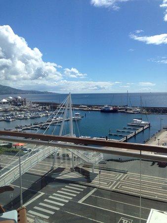 Hotel Marina Atlantico: Vista do quarto