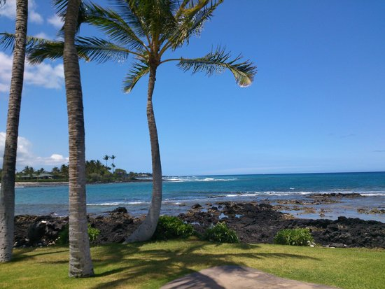 Fairmont Orchid, Hawaii: 静かなビーチ