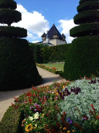 Chateau de Pizay: View from the Garden