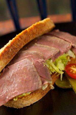 Royal Stag Bistro Salt Beef Sandwich