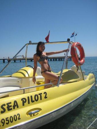 Belvista Hotel: На пляже)