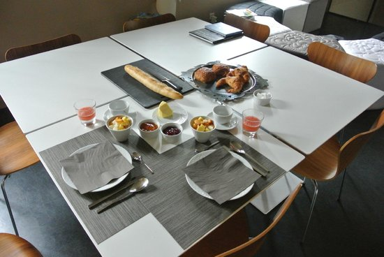 Les 4 Etoiles: ontbijt