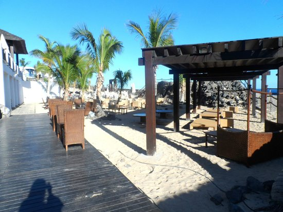 Own beach picture of hesperia lanzarote puerto calero tripadvisor - Hesperia lanzarote puerto calero ...