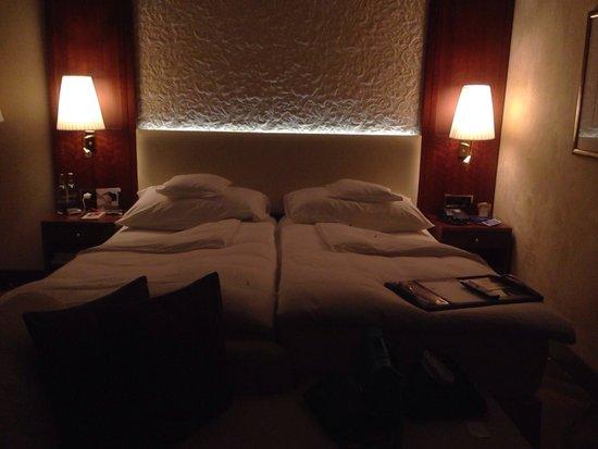 Grand Hotel Hof Ragaz: Turndown-Service am Abend