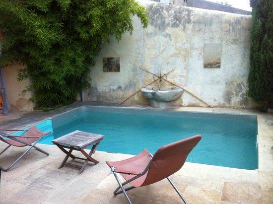 La demeure du Chateau: piscine