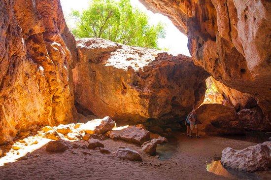 Vest-Australia, Australia: entry from the inside