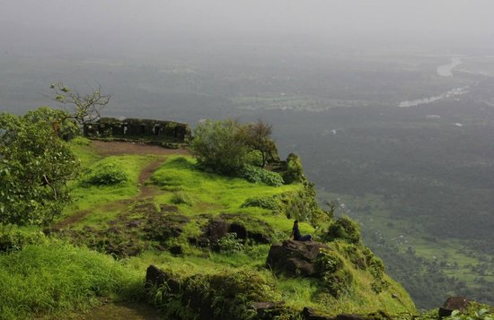 Karnala Fort: View from Fort