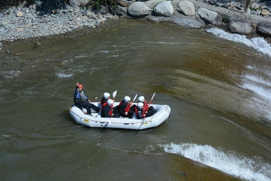 """La Rafting Company: El """"tobogán"""""""