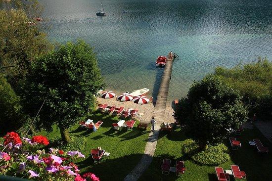 Hotel Seewinkel: vue de la chambre