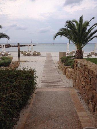 Sani Asterias : walk to the Asteria Beach