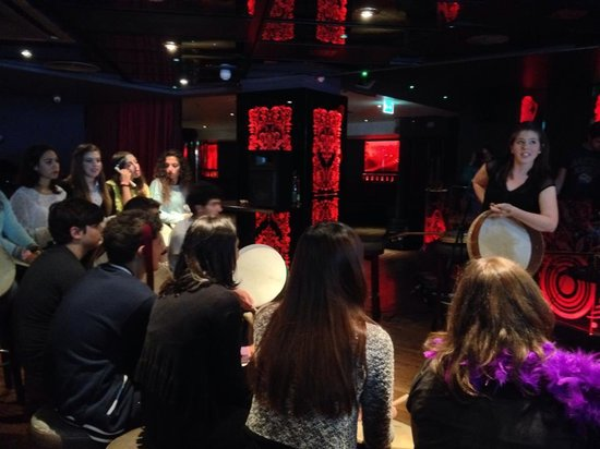 Traditional Irish Experience: learning to play the bodhran