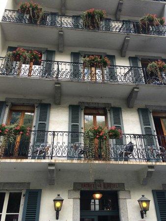Langley Hotel Gustavia : balcony