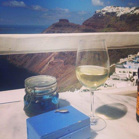 Cafe Galini: Views