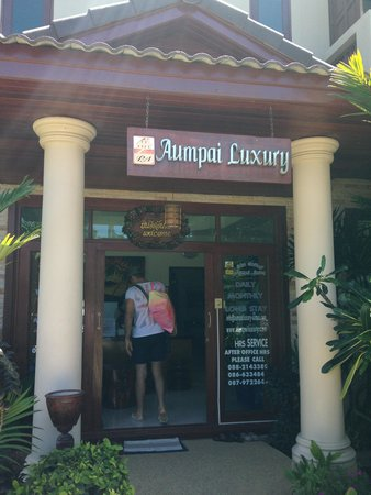 Aumpai Luxury : Ingresso Reception