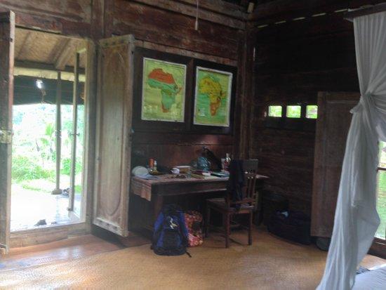 Bambu indah front door to porch afrika house furnishings