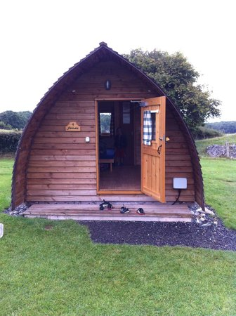 Clwydian Wigwams: outside in view