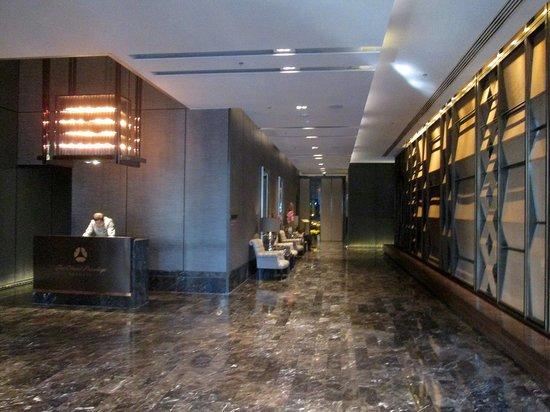 The Okura Prestige Bangkok: 1階ウェルカムロビー