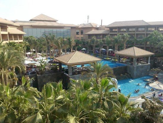 Dusit Thani LakeView Cairo: Unique Pool view