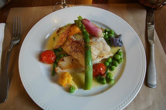 Restaurant Bouche en Folie: Saint-Pierre met zomergroenten