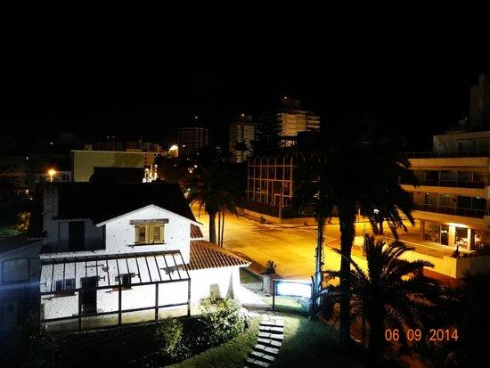 Hotel Castilla: Vista noturna