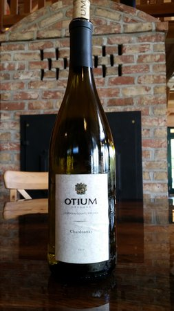 Goose Creek Farm and Winery - Otium Cellars: Cardonnay