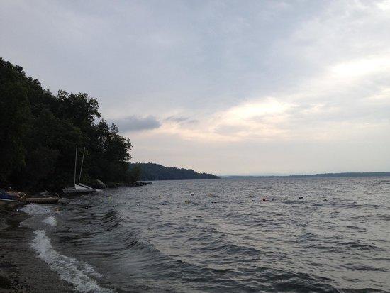 Westport, NY: Lake view