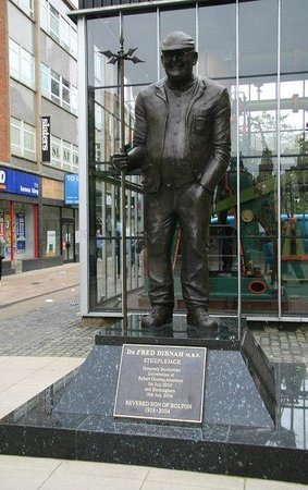 Bolton, UK: Fred Dibnah