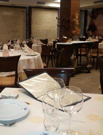 La Peseta Restaurante Hotel: Decoración