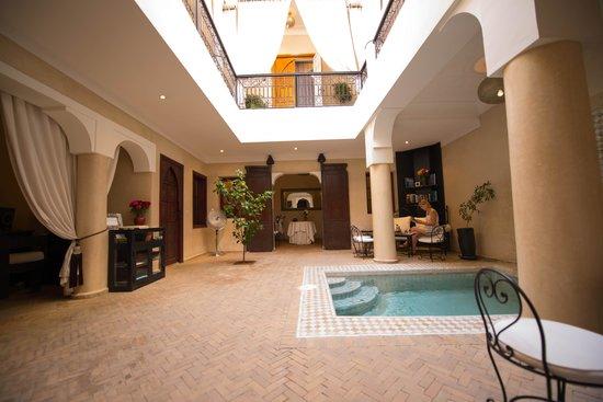 Riad Al Badia: Internal shot of the Riad