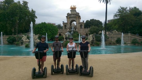 Barcelona Segway Glides : Group shot