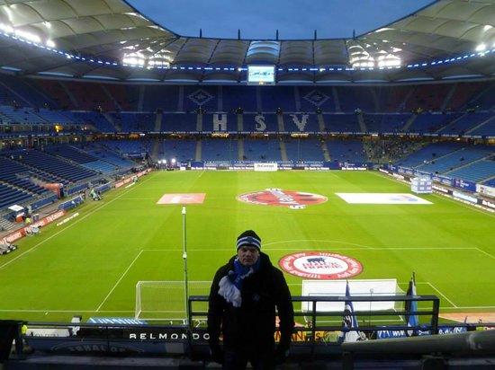 picture of volksparkstadion hamburg. Black Bedroom Furniture Sets. Home Design Ideas