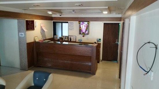 Swasti Hotel: Hotel swasti Lobby area