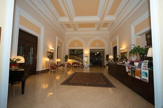 Reception Area Of Grand Hotel Plaza Montecatini Picture Of Grand Hotel Plaza Locanda Maggiore Montecatini Terme Tripadvisor