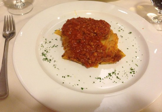 Kori: Their pathetic excuse for lasagna :(