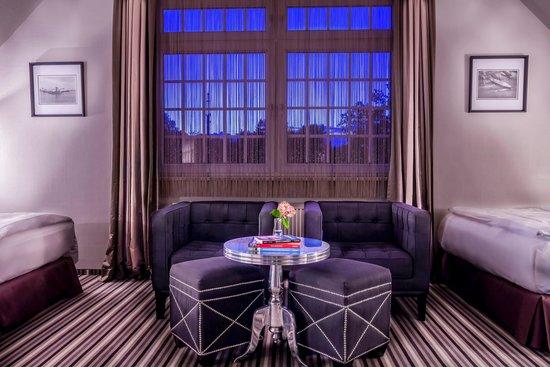 Hotel Poppenbuetteler Hof : Familienzimmer
