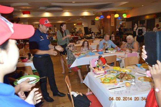 Birthday Celebration At Bricks Restaurant Picture Of