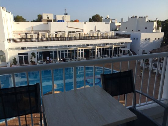 Prinsotel Alba Hotel Apartments: View from the balcony