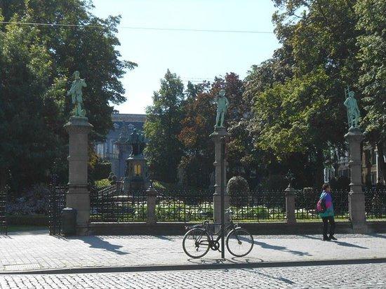Jardin du Petit Sablon: ingresso