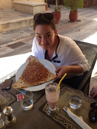 Sokaki Cafe : Beware of the size of the crepes