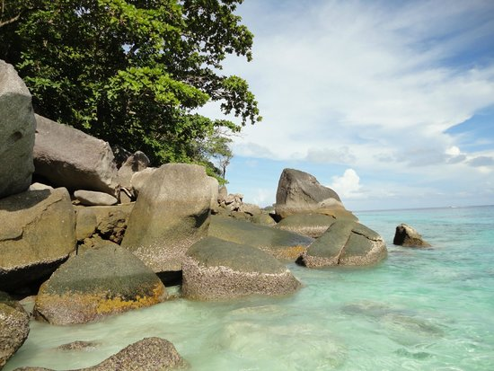 Similan Islands National Park: plage
