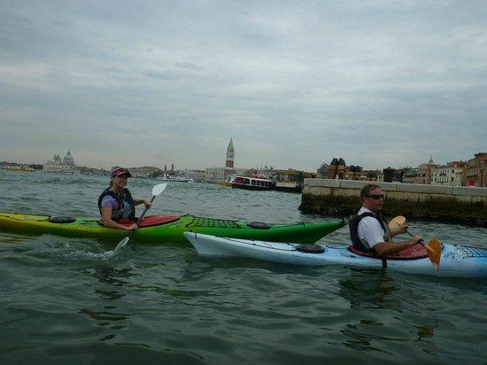 Venice Kayak : Kayakin the lagoon