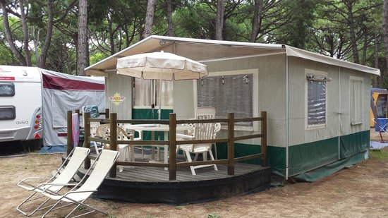 Ca'Pasquali Village: Lodge tent