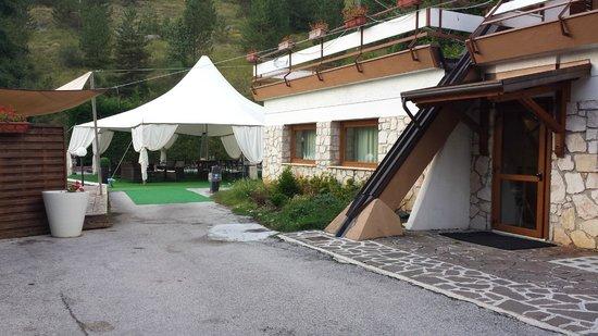 Hotel Nido dell'Aquila: esterno